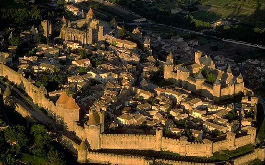 Zamek w Carcassone